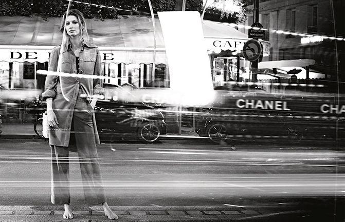 Жизель Бундхен в рекламе Chanel