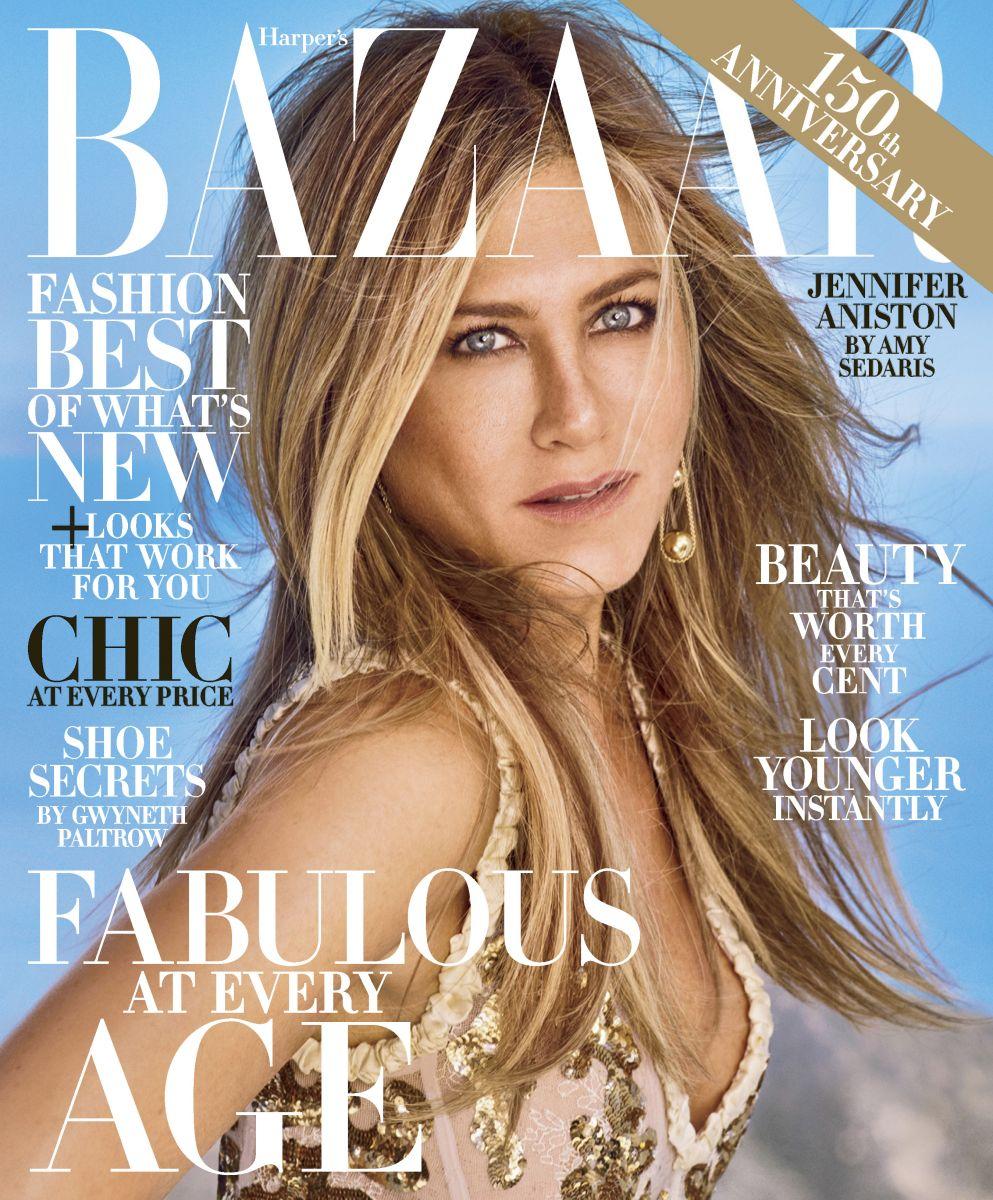 Изысканная сексуальность: Дженнифер Энистон блистает в фотосессии для Harper's Bazaar