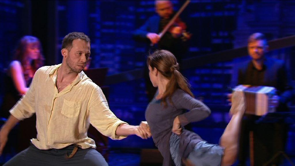 Константин Томильченко и Kiev Tango Project устроили испытание для участников Танцюють всі-8