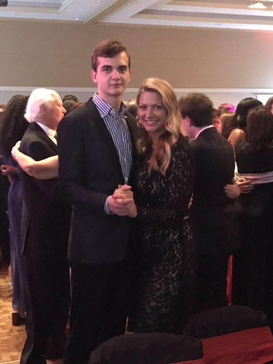 Татьяна Литвинова с сыном Владимиром