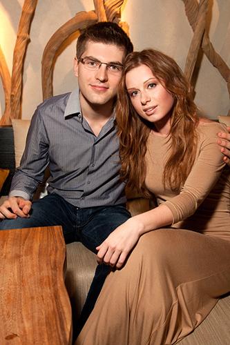 Юлия Савичева и Дмитрий Борисов