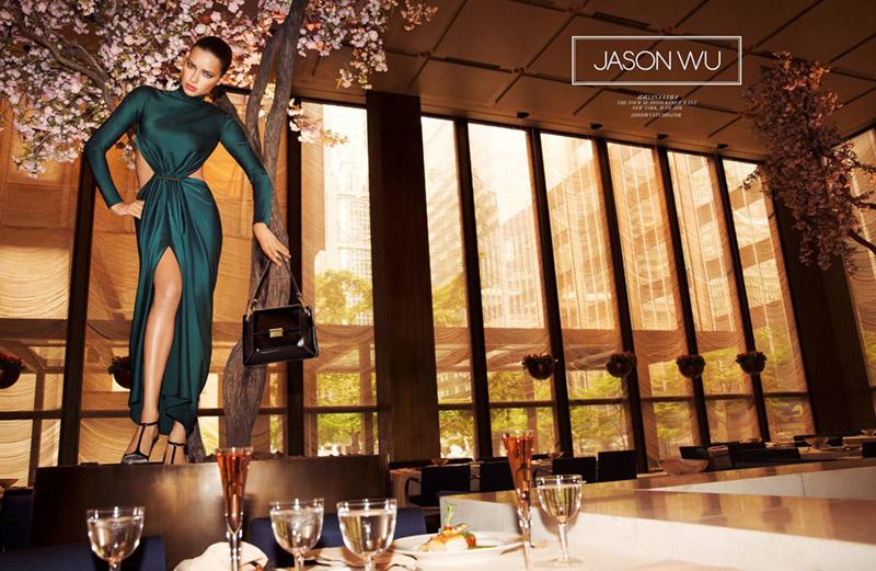 Адриана Лима в рекламе Jason Wu