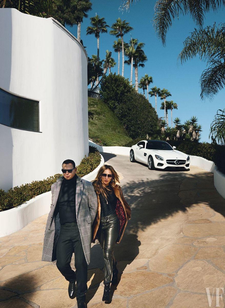 Дженнифер Лопес и Алекс Родригес снялись в первой совместной фотосессии и дали откровенное интервью