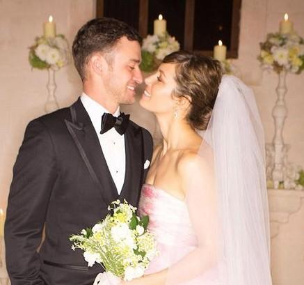 Джастин Тимберлейк и Джессика Бил фото