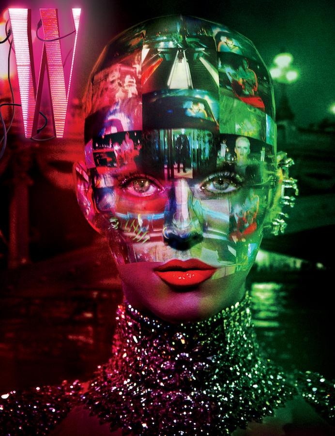 Женщина будущего: Кэти Перри снялась в невероятной фотосессии для глянца
