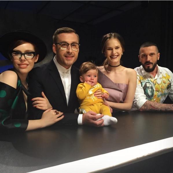 Украинская топ-модель Алла Костромичева показала своего подросшего сына