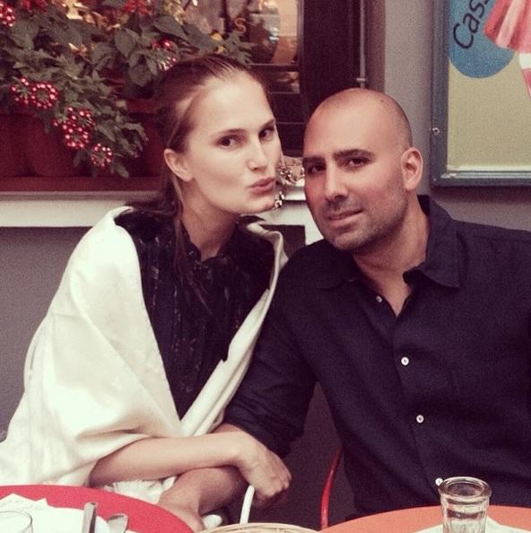 Алла Костромичева и ее жених Джейсон