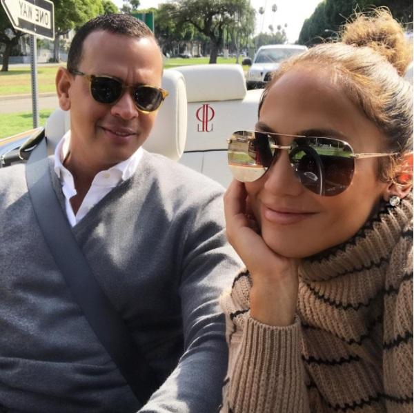 Дженнифер Лопес трогательно призналась в любви бойфренду Алексу Родригесу