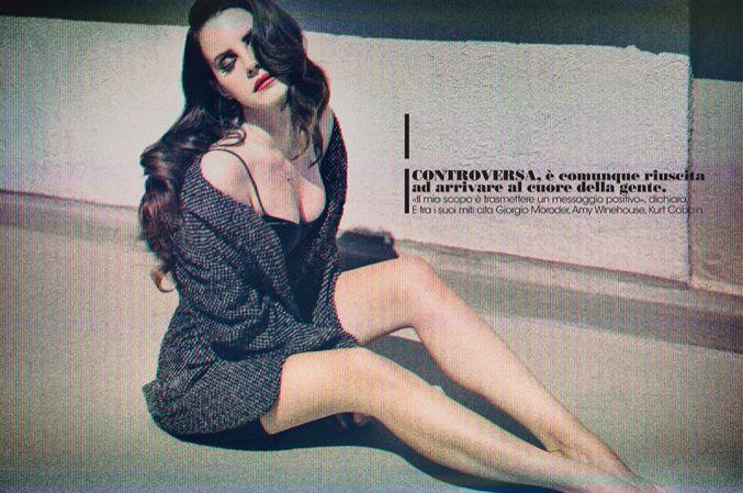 Лана Дель Рей в новой фотосессии своего бойфренда