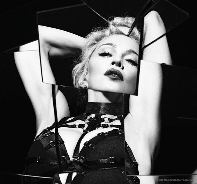 Мадонна снялась в провокационной фотосессии в БДСМ-белье