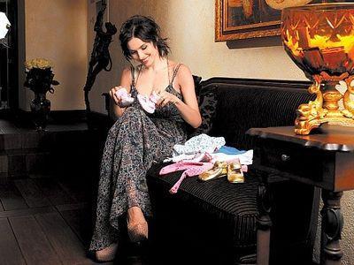 Надежда Мейхер беременна третьим ребенком