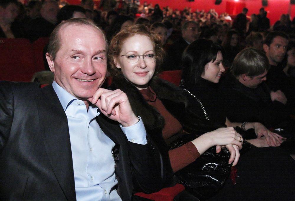 Андрей Панин и Наталья Рогожкина
