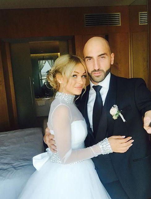 Анна Хилькевич и ее муж Артур