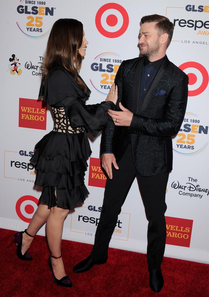 Это любовь: Джастин Тимберлейк и Джессика Бил покорили публику искренностью своих чувств