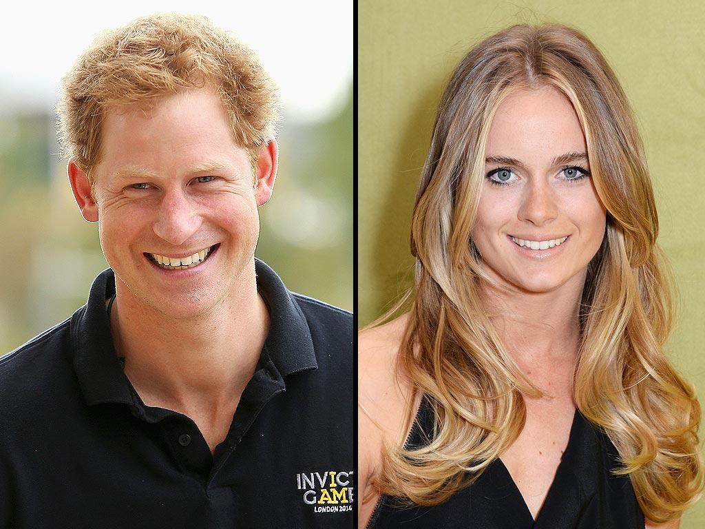 СМИ: принц Гарри обручился с Крессидой Бонас