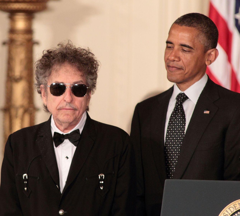 Боб Дилан и Барак Обама