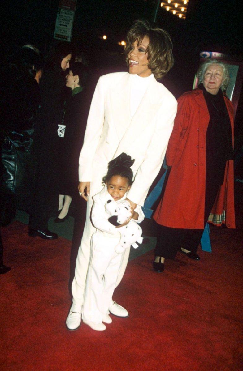 Уитни Хьюстон и ее дочь Бобби Кристина Браун