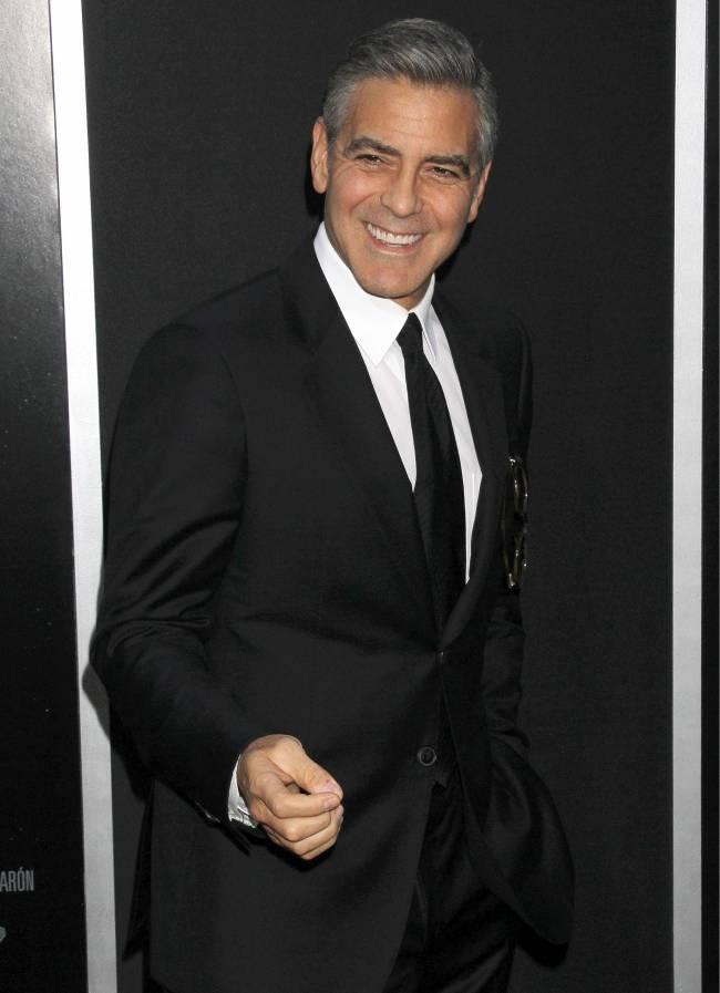 Джордж Клуни признан самым стильным актером Голливуда