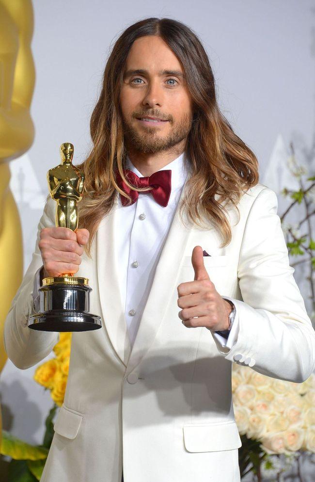 Оскар-2014: актер Джаред Лето обратился к украинцам (Фото)