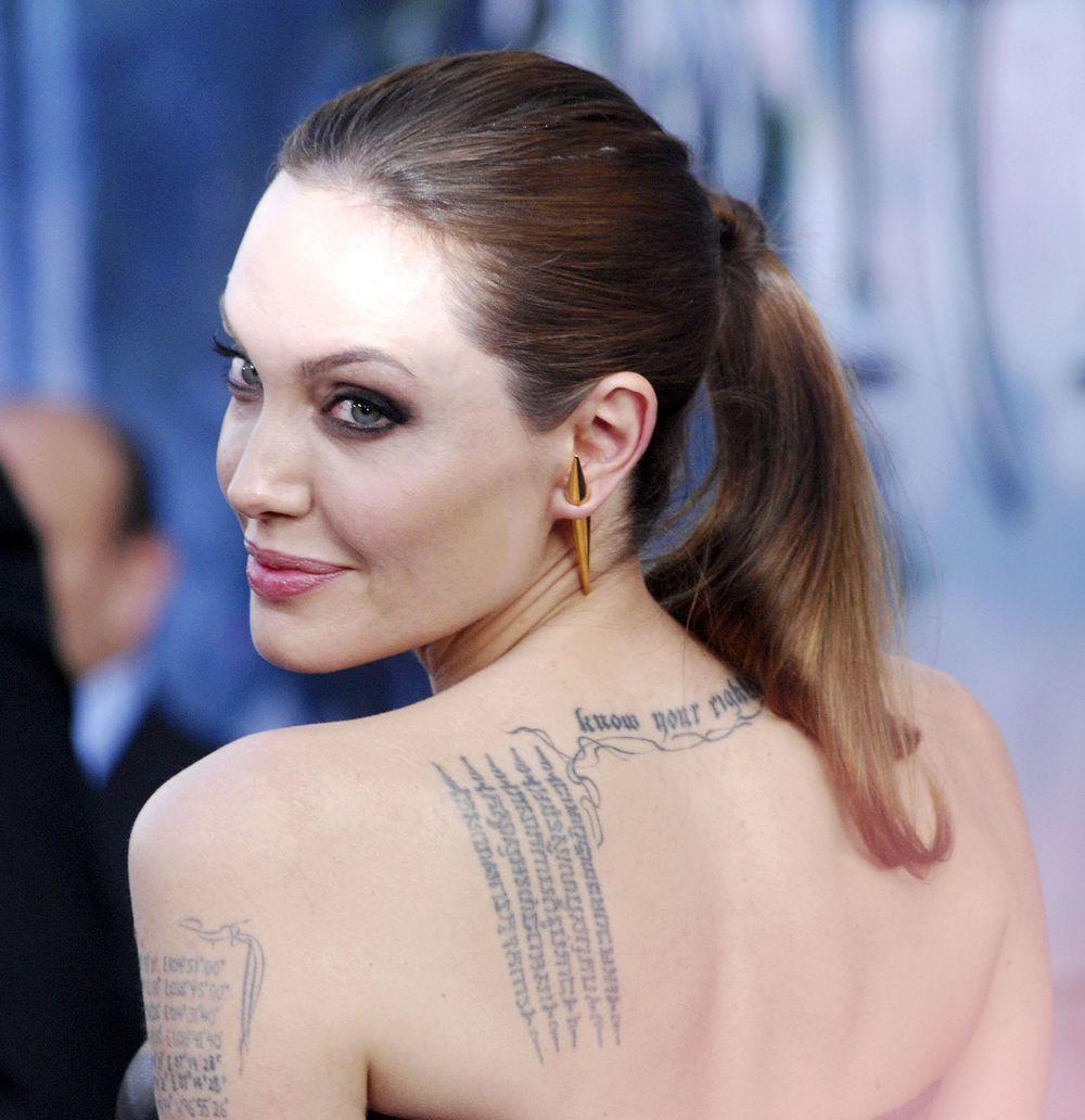 Анджелина Джоли малефисента премьера