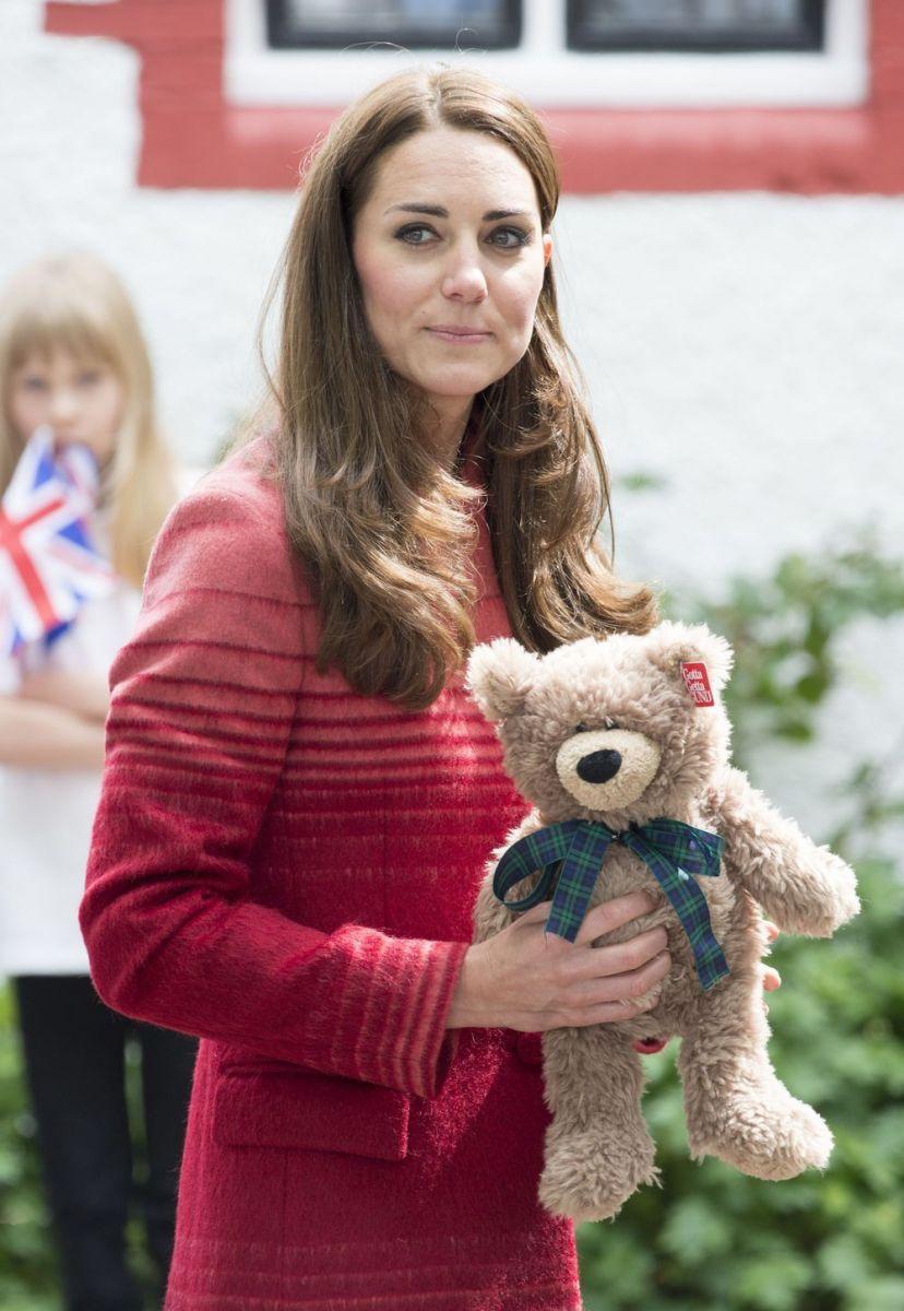 Кейт Миддлтон беременная