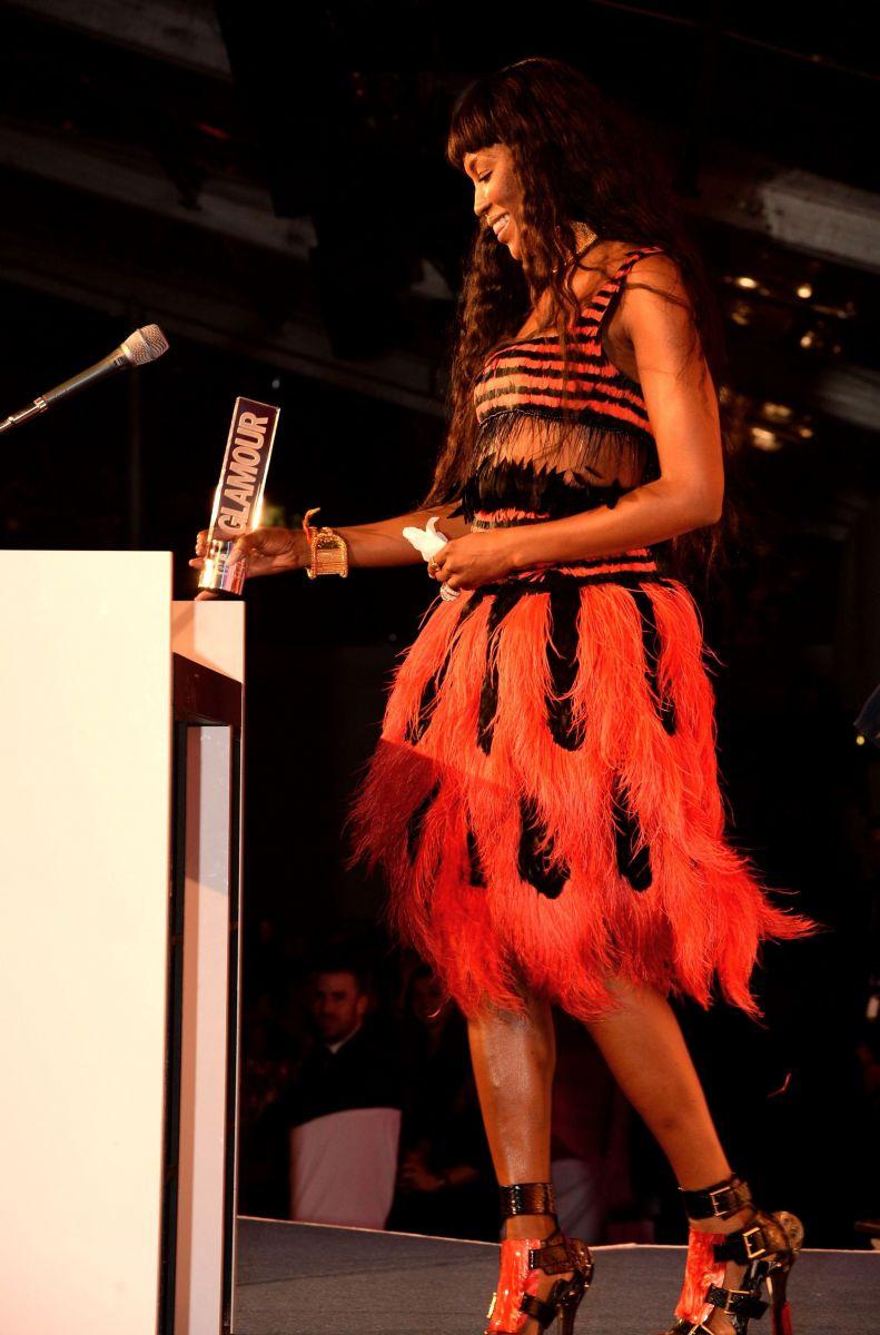Наоми Кэмпбелл на церемонии Женщина года