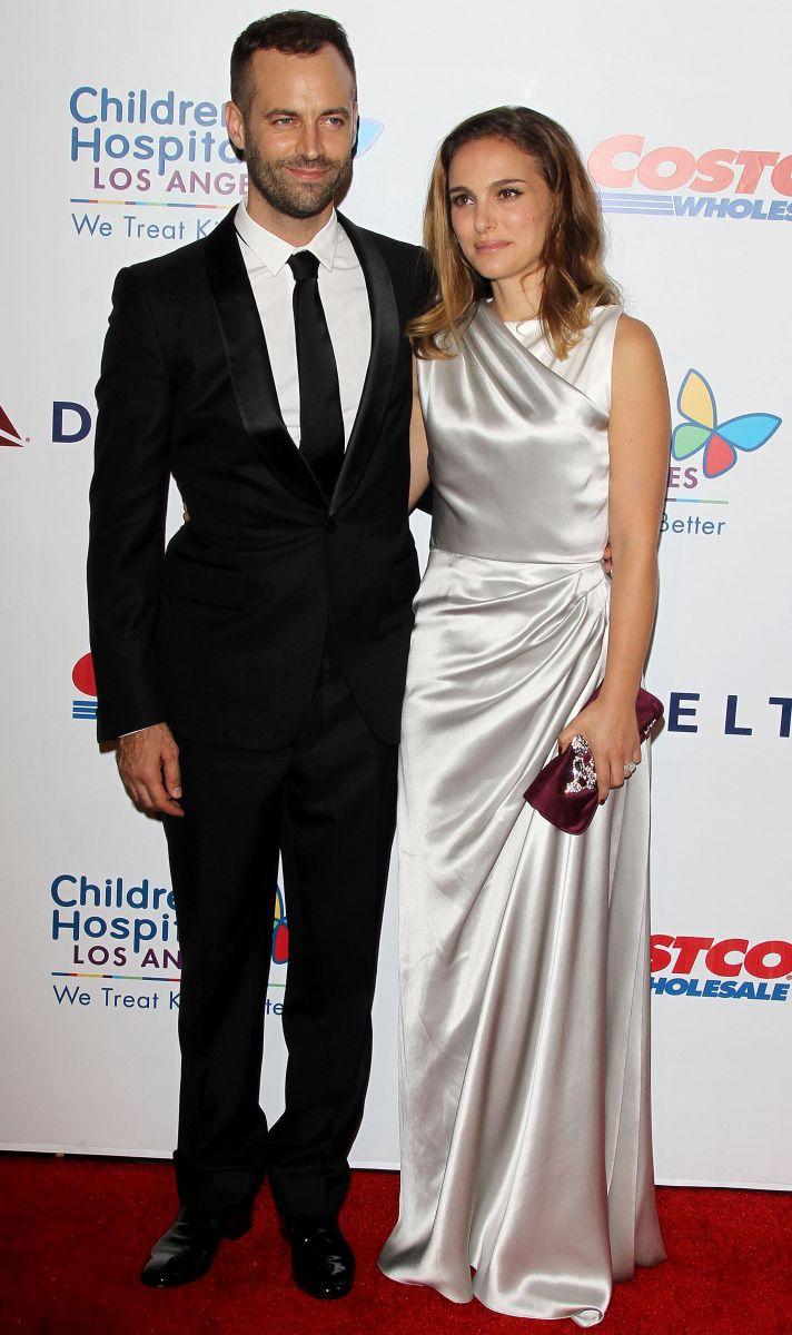 Натали Портман вышла в свет со своим супругом