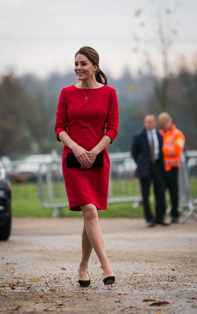 Кейт Миддлтон нанесла официальный визит в детский хоспис