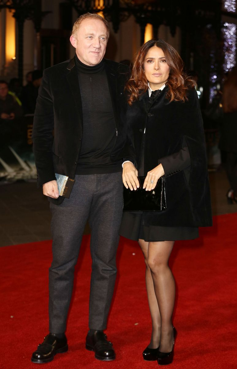 Сальма Хайек блистает в Лондоне со своим супругом-миллиардером