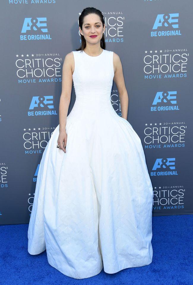 Марион Котийяр на церемонии Critics' Choice Movie Awards-2015
