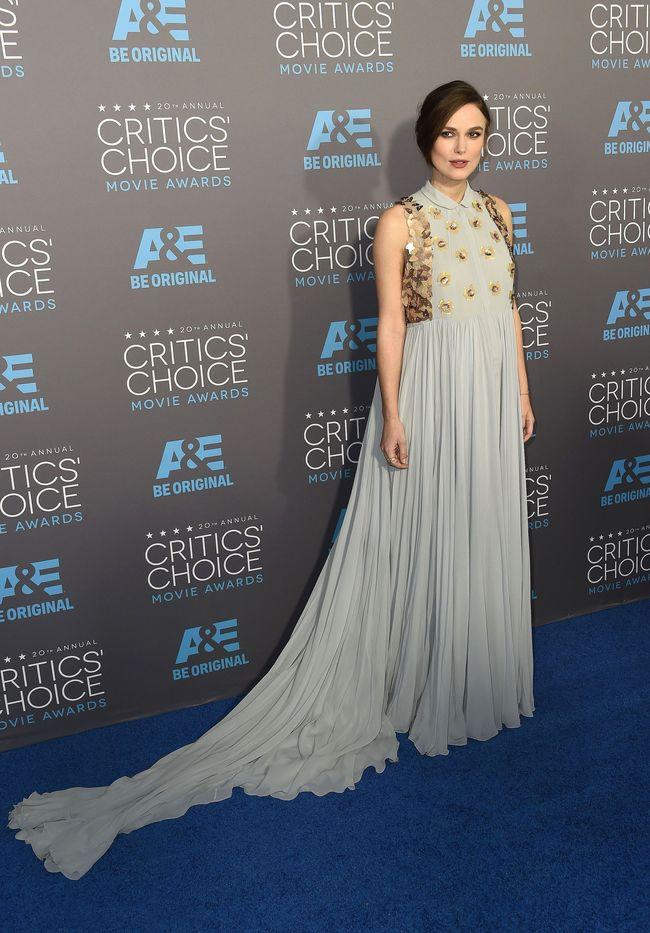 Кира Найтли на красной дорожке Critics Choice Movie Awards-2015