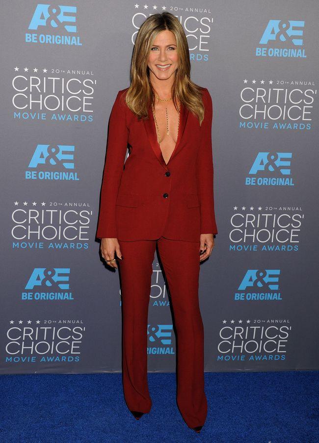 Дженнифер Энистон на церемонии Critics' Choice Movie Awards-2015