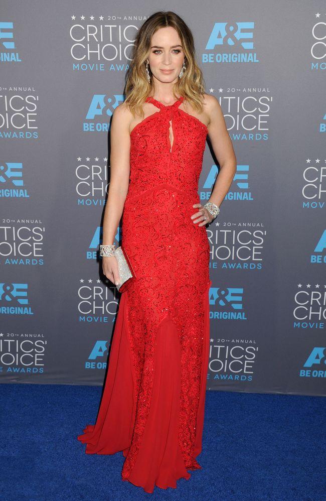 Эмили Блант на церемонии Critics' Choice Movie Awards-2015