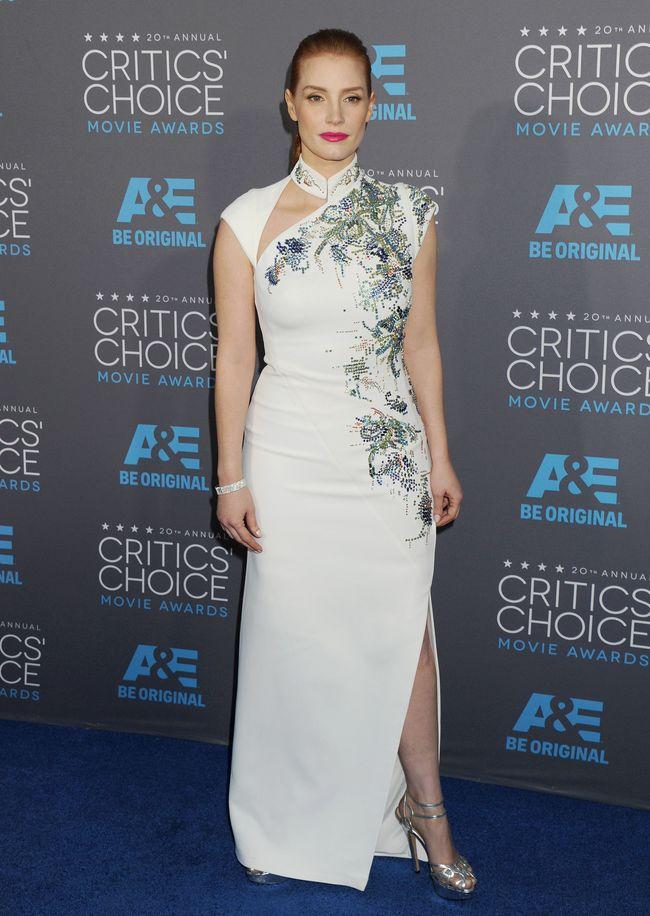 Джессика Честейн на церемонии Critics' Choice Movie Awards-2015
