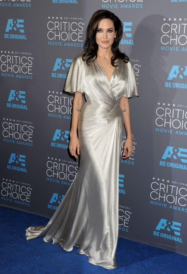 Анджелина Джоли на церемонии Critics' Choice Movie Awards-2015