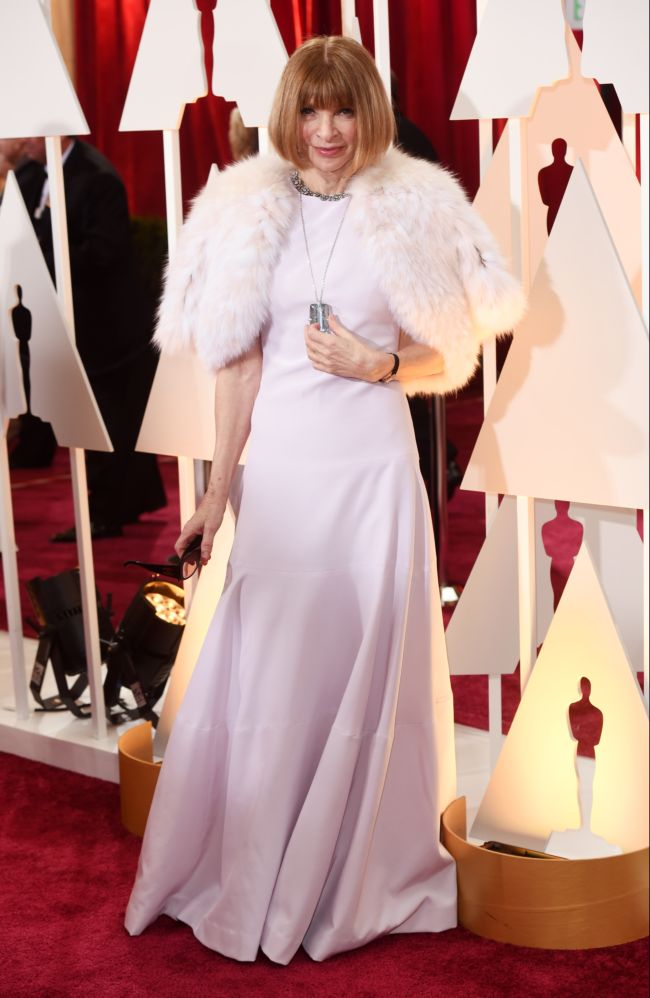"Анна Винтур на церемонии ""Оскар-2015"""