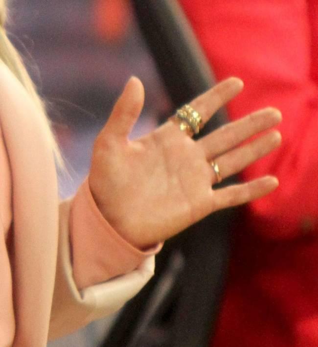 Блондинка в розовом: Хайден Панеттьери впервые появилась на публике после родов