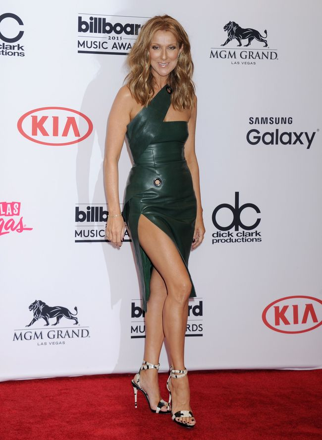 Селин Дион на церемонии Billboard Music Awards-2015