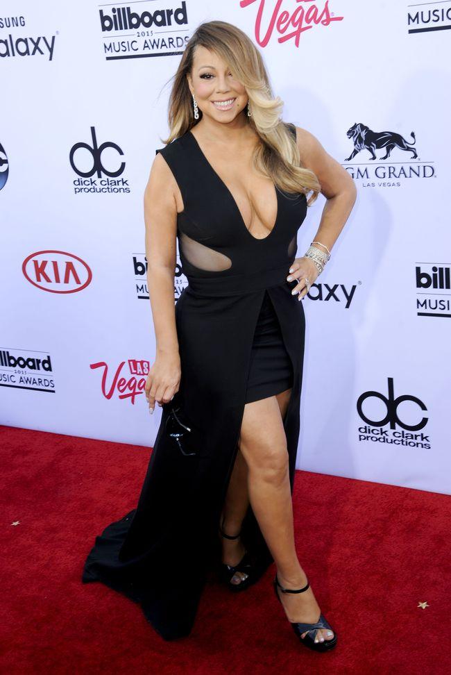 Мэрайя Кэри на церемонии Billboard Music Awards-2015