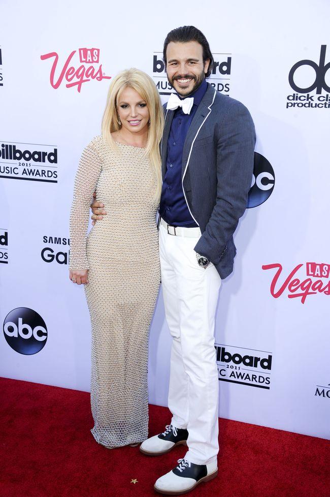 Бритни Спирс и ее бойфренд Чарли Эберсол на церемонии Billboard Music Awards-2015