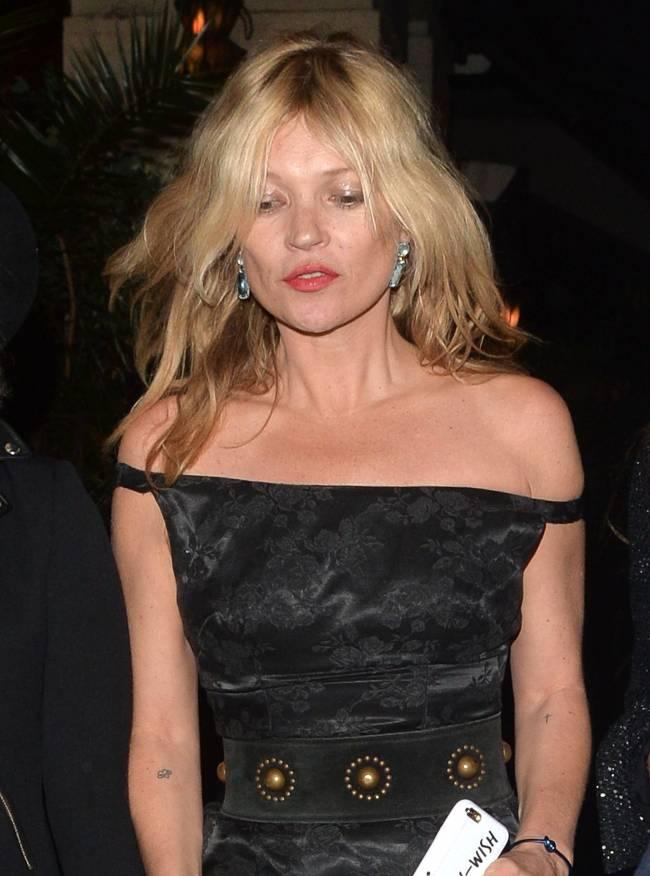 Кейт Мосс обескуражила публику свои внешним видом