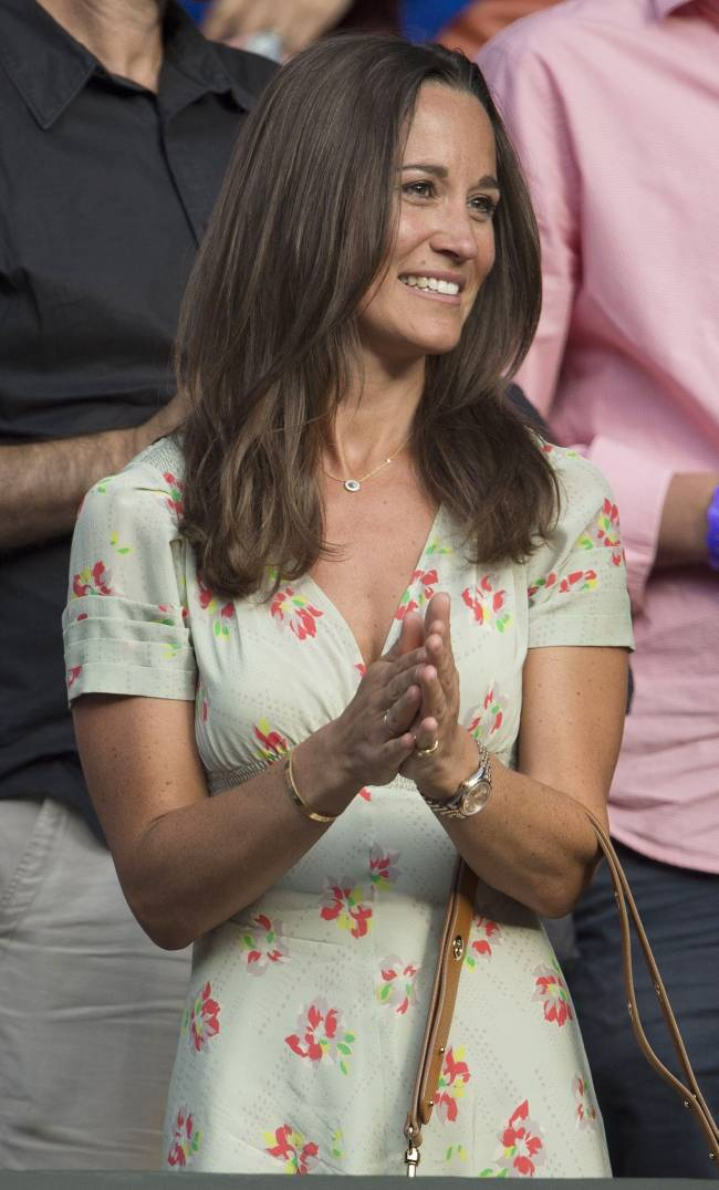 Элегантная красотка Пиппа Миддлтон блистает на Уимблдонском турнире