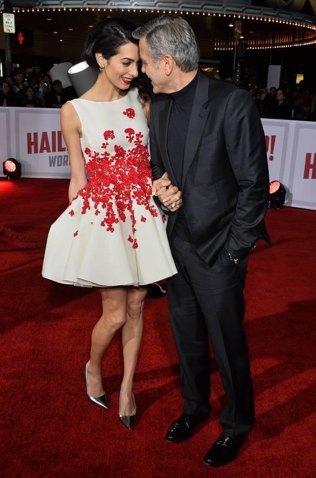 Счастливы вместе: Джордж и Амаль Клуни блистают на кинопремьере в Лос-Анджелесе