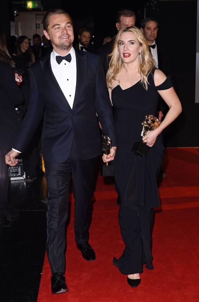 Любимчики публики: Леонардо ДиКаприо и Кейт Уинслет блистают на красной дорожке в Лондоне