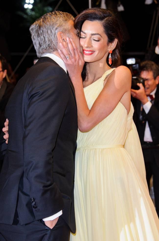 """Джордж Клуни впервые прокомментировал беременность супруги Амаль: """"Нас ждет большое приключение"""""""
