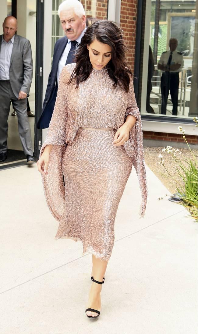 Ким Кардашьян заявила, что хочет избавиться от своей попы