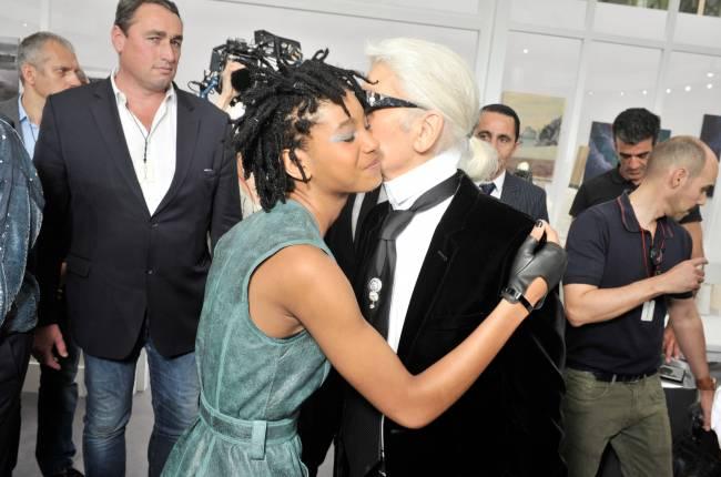 Уилл Смит с дочерью Уиллоу посетили Неделю высокой моды в Париже