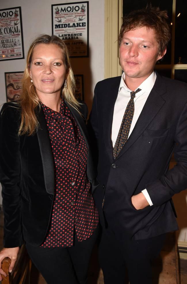 Кейт Мосс рассталась с молодым бойфрендом