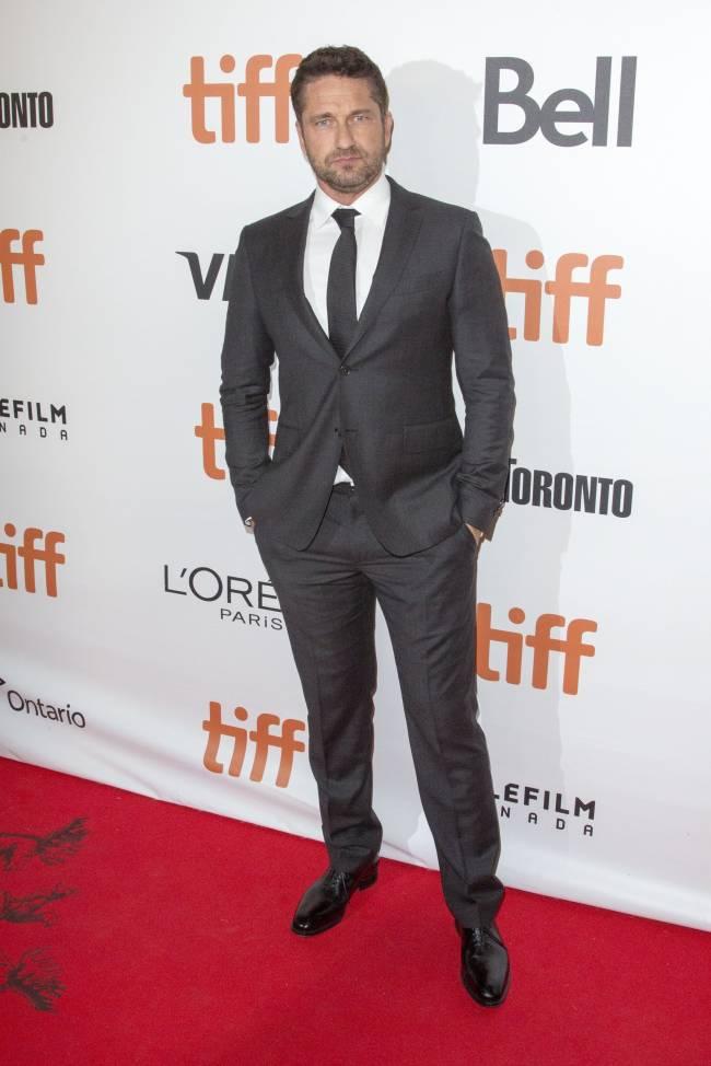 Красавчик Джерад Батлер покорил публику кинофестиваля в Торонто