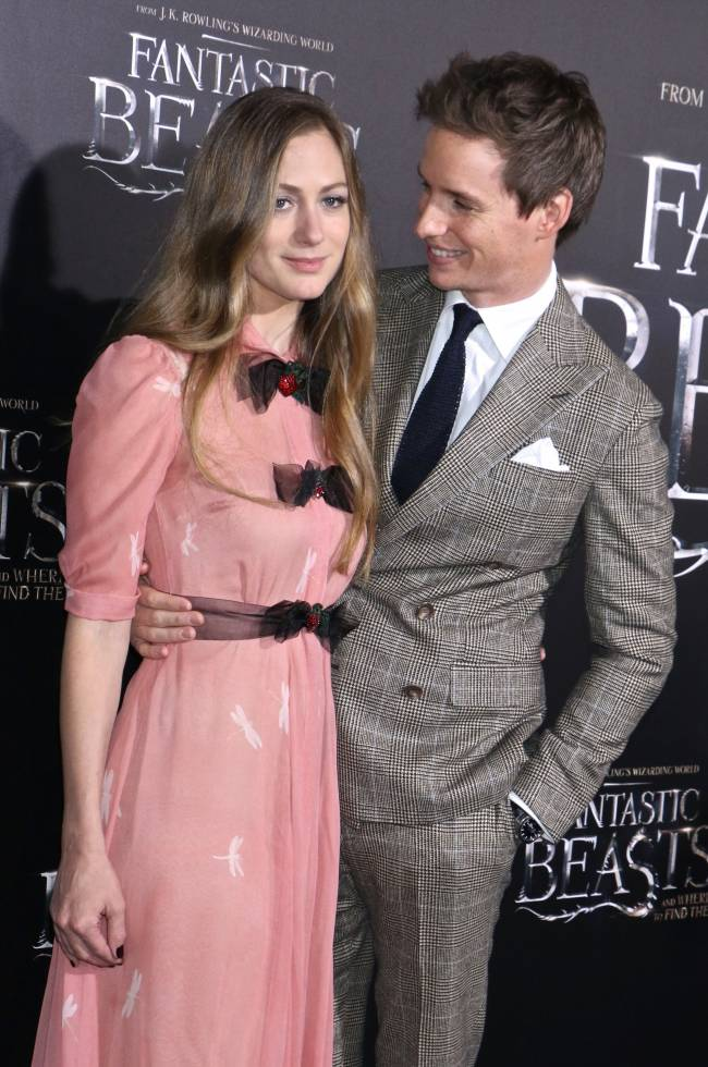 эдди редмэйн фото с женой